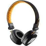 Slúchadlá s mikrofónom Trust Fyber - čierno/oranžová