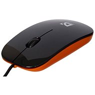 Defender NetSprinter 440 Black - Orange - Myš