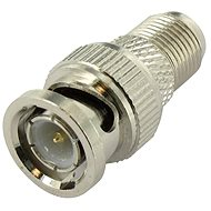 Reduction of the F-connector to BNC Male-Male