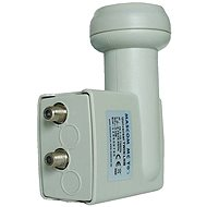 Mascom MCT02HD Twin LNB 0.2 db