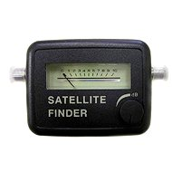Satfinder - satellite signal strength indicator, buzzer, connector F