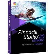 Pinnacle Studio 20 Ultimate - Strihový softvér