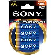 Sony STAMINA PLATINUM, LR6/AA 1.5V, 4 ks