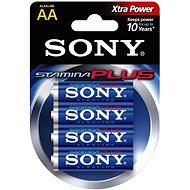 Sony STAMINA PLUS, LR6/AA 1.5V, 4 ks