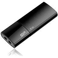 Silicon Power Ultima U05 Schwarz 8 Gigabyte - USB Stick