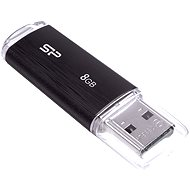 Silicon Power Ultima U02 Schwarz 8 GB - USB Stick