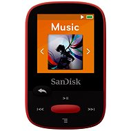 SanDisk Sansa Clip Sports 4GB Red - MP3 Player