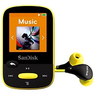 SanDisk Sansa Clip Sports 8GB yellow