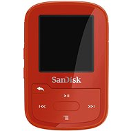 SanDisk Sansa Clip Sports Plus 16 GB rot - MP3 Player