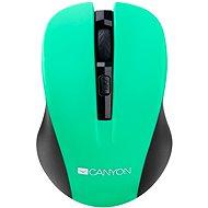 Canyon CMSW1GR černo-zelená - Myš