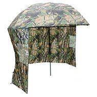 NGT Camo Brolly with Side Sheet 2,2m - Deštník