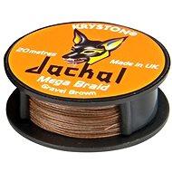 Kryston - Jackal Gravel Brown 20lb 20m