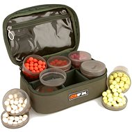 FOX FX Glug Pot Case (inc 4 x tinted full pots and 4 x half pots) - Taška