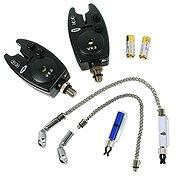 NGT Bite Alarm VX2 2ks + Řetízkový swinger 2ks - Hlásič