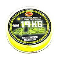 WFT - Cord GLISS 300 m 19 kg 0,25 mm Yellow - Schnur