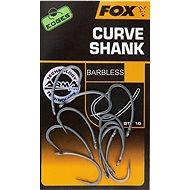 FOX Edges Armapoint Curve Shank Velikost 6B Barbless 10ks - Háček