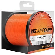 FIN Big Game Carp 0,25mm 9,3lbs 600m Oranžový - Vlasec