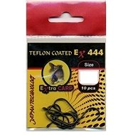Extra Carp Teflon Hooks EX 444 Velikost 4 10ks - Háček