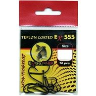 Extra Carp Teflon Hooks EX 555 Velikost 4 10ks - Háček