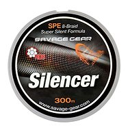 Savage Gear Šňůra HD8 Silencer Braid 0,12mm 13lbs 6,3kg 300m Zelená - Šňůra