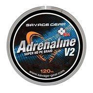 Savage Gear Šňůra HD4 Adrenaline V2 0,13mm 17lbs 7,8kg 120m Šedá - Šňůra
