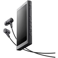 Sony Hi-Res WALKMAN NW-A35 schwarz + MDR-EX750 - MP3 Player