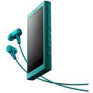 Sony Hi-Res WALKMAN NW-A35 blau + MDR-EX750 - MP3 Player