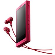 Sony Hi-Res WALKMAN NW-A35 pink + MDR-EX750 - MP3 Player