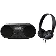 Sony ZS-PS50B + MDR-ZX110