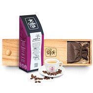 Jamaica Blue Mountain, set v dřevěném boxu - káva
