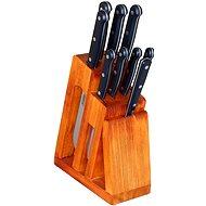 KDS Blok s 8 noži a vidlicí Trend, buk