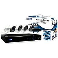 KGUARD 4-kanálový rekordér + 4x barevná venkovní kamera