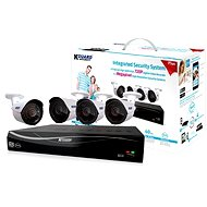 KGUARD 4-channel DVR + 4x color outdoor camera