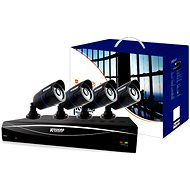 KGUARD 8-kanálový rekordér DVR + 4x farebná vonkajšia kamera - Kamerový systém