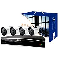 KGUARD 4-channel DVR + 4x colour outdoor camera