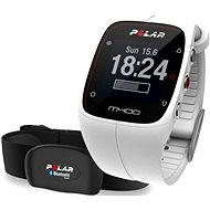 Polar M400 HR White - Sporttester