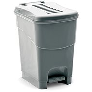 KIS Koš na odpad Koral Bin S- šedý 10l - Odpadkový koš