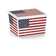 KIS C Box Style American Flag Cube 27l - Úložný box