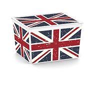 KIS C Box Style Union Jack Cube 27l - Úložný box