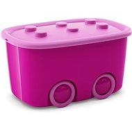 KIS Funny box L purple 46l - Storage Box