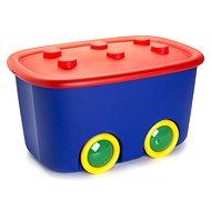 KIS Funny box L červený / modrý 46l