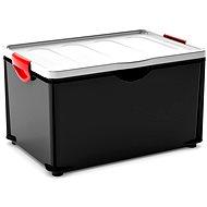 KIS Clipper Box XL black-gray lid 60 liters