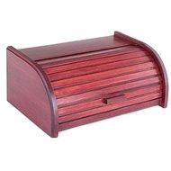 KOLIMAX box na pečivo 42 cm buk, barva třešeň - Chlebník