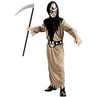 Šaty na karneval - Smrtka vel. S - Dětský kostým