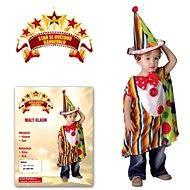 Šaty na karneval - Malý klaun veľ. XS