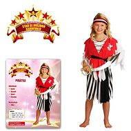Šaty na karneval - Pirátky vel. S - Detský kostým