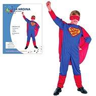 Šaty na karneval - Super hrdina vel. M - Dětský kostým
