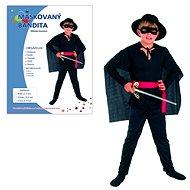 Šaty na karneval - Maskovaný bandita vel. M