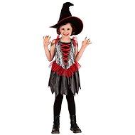 Šaty na karneval - Čarodějnice vel. S - Dětský kostým