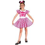 Šaty na karneval - Myška vel. M - Dětský kostým
